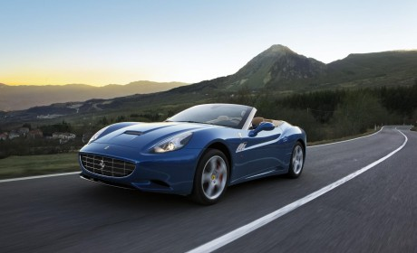 Geneva Show more power and less weight for Ferrari California