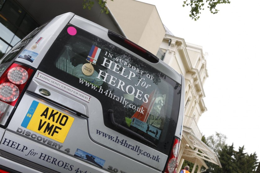 Drive off road across Europe and raise money for Help The Heroes