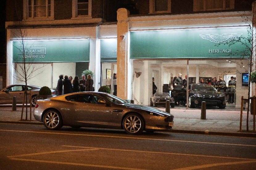 Aston Martin specialists open UK's first 'high street' Heritage Showroom