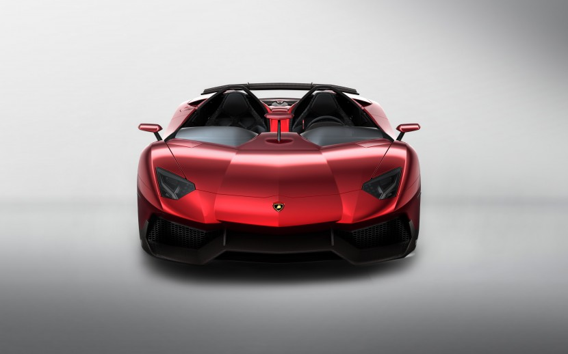 The Lamborghini Aventador J revealed