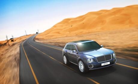 Bentley revel new 4×4 SUV concept at Geneva