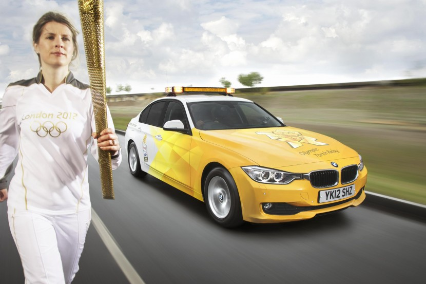 BMW London 2012 Olympic fleet unveiled