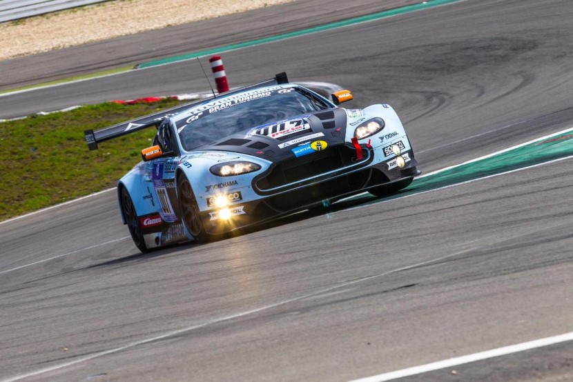 So far so good for Aston Martin at Nürburgring
