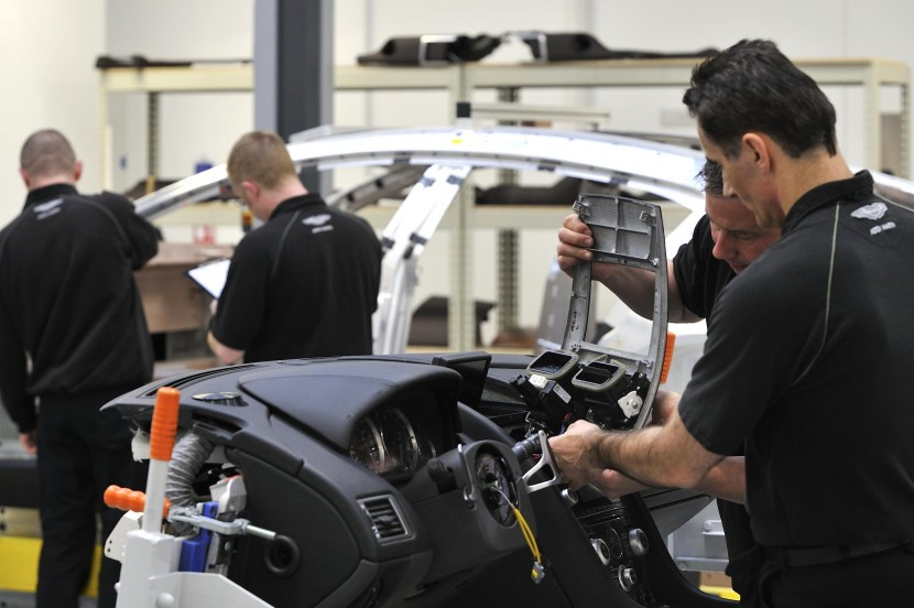 New Technical Training Academy opens at Aston Martin