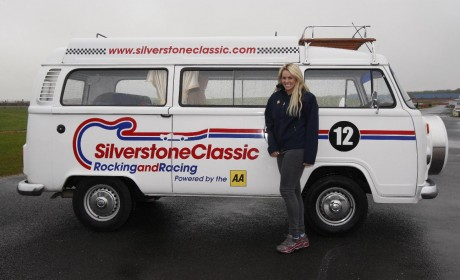 Chemmy Alcott moves from the ski slopes to the race track
