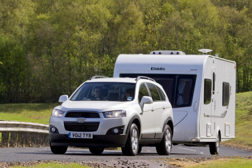 Chevrolet offer guide to safe caravanning