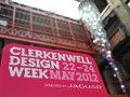 Clerkenwell Design Week sponsored by Jaguar