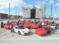Ferrari Owners' Clubs Titanic celebrations in Belfast