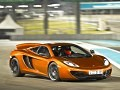 Flat out in the McLaren MP4-12C at Yas Marina Circuit Abu Dhabi
