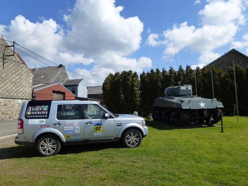 Help for Heroes European 4×4 Rally raises over £400,000