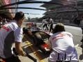 McLaren Driver Jenson Button at Spanish GP