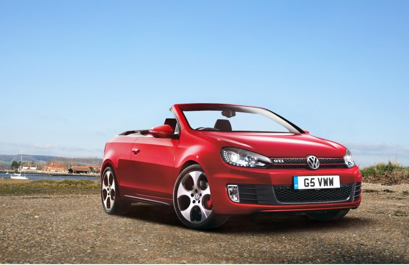 New VW Golf GTi Cabrio goes on sale