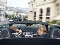 Nico Rosberg and Mika Häkkinen drive around Monaco in the Mercedes-Benz AMG SLS Roadster