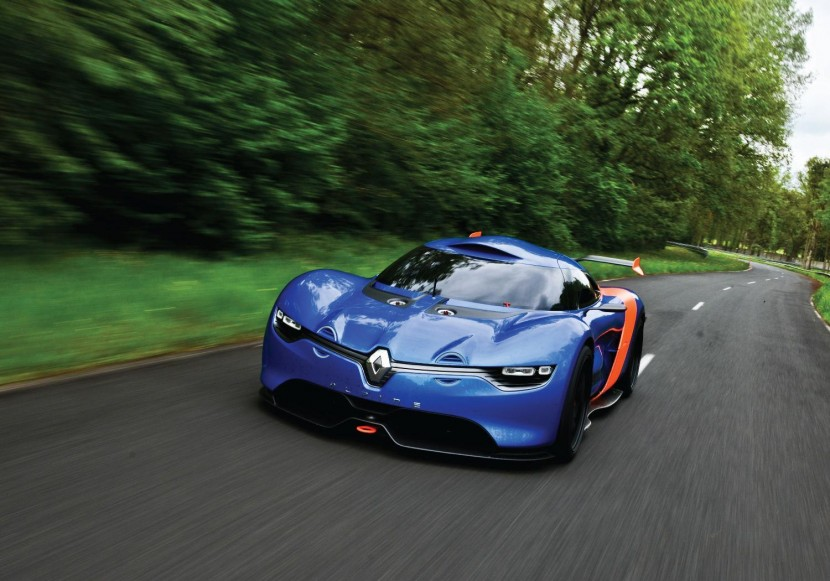 Renault celebrates 50 years of Alpine A110 with new concept car