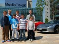 Stratstone Manchester help Alder Hey children's dreams come true with Ferraris