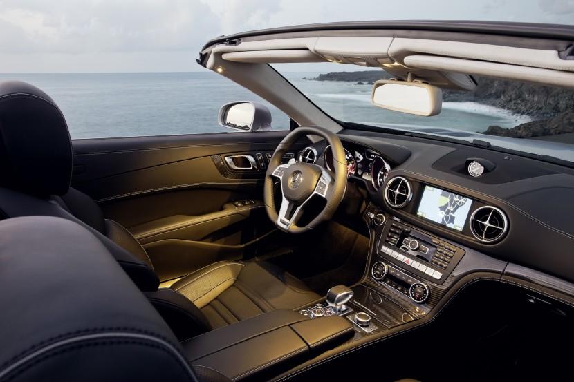 The new Mercedes-Benz SL 63 AMG