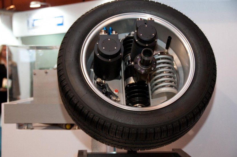 Michelin's innovative Active Wheel technology to showcase at Goodwood Festival of Speed