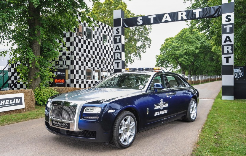 Rolls Royce Ghost Extended Wheelbase to lead Goodwood Festival of Speed