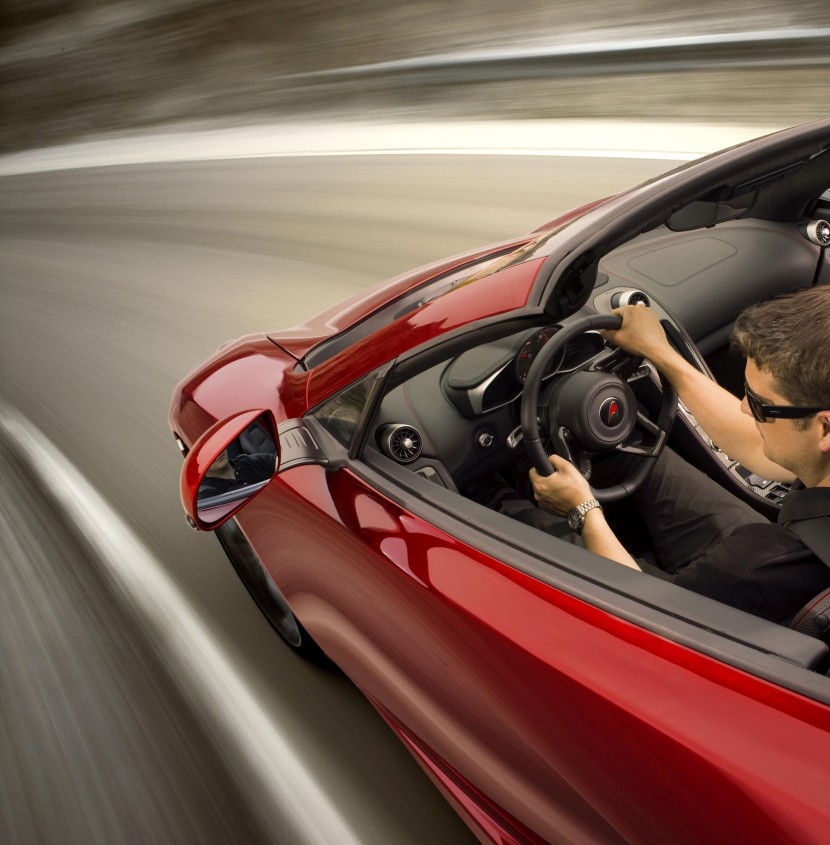 The Mclaren MP4-12C Spider is here – almost – and Jenson likes it