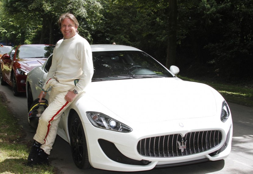 James Martin drives the new Maserati GranTurismo Sport at Goodwood