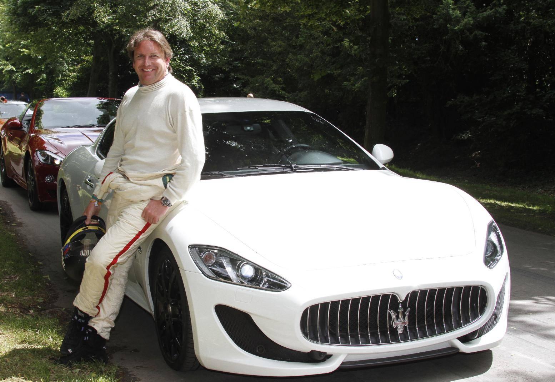 James Martin Drives The New Maserati GranTurismo Sport At Goodwood