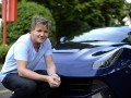 Gordon Ramsay at the Ferrari plant in Maranello