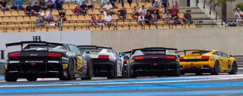 Hot and eventful Lamborghini Blancpain Super Trofeo race at Paul Ricard