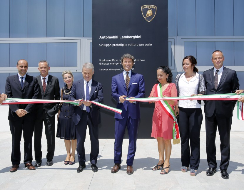 Lamborghini opens new energy saving prototype development building