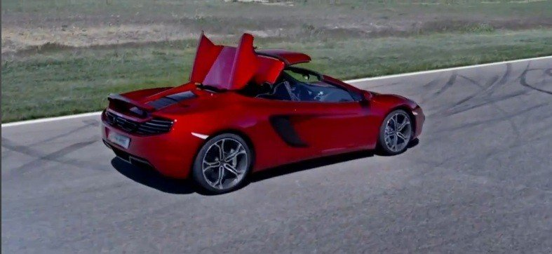 Video: The new McLaren 12C Spider