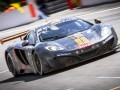 McLaren 12C GT3 race car claims pole position at the Total 24 Hours of Spa