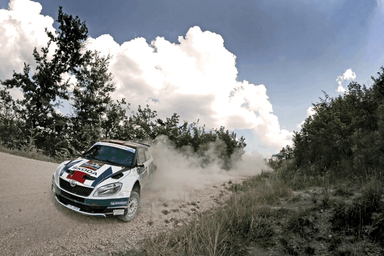 Video: the best place to interview ŠKODA Rally Driver Andreas Mikkelsen