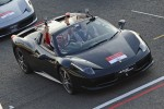 Massa leads Ferrari World Record Convoy Parade In A 458 Spider At Silverstone Race Circuit 964 Cars On The Track