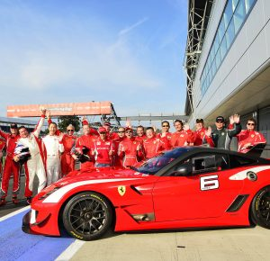 Ferrari Bring FXX To World Record Convoy Parade At Silverstone - Sports cars 5 letters