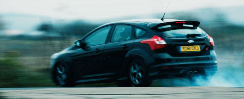 ford focus st at speed in the sweeney. Black Bedroom Furniture Sets. Home Design Ideas