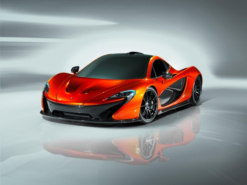 The new McLaren P1 Supercar