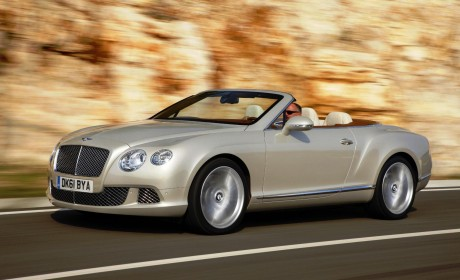 Bentley Continental GT Convertible wins Auto Trophy 2012 award