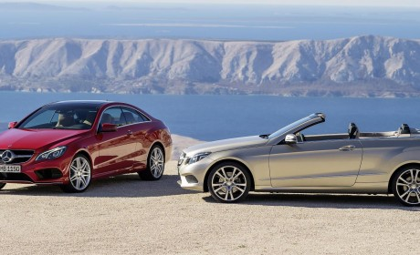 A new look and even more safety features for E-Class Coupe and Cabriolet