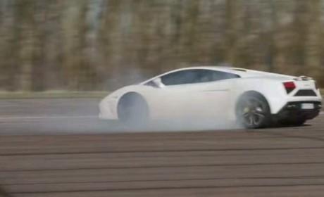 What does ESP do on a Lamborghini Gallardo?