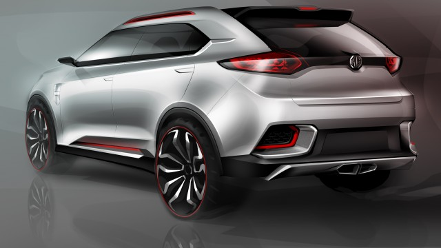 MG SUV concept for Shanghai Motor Show