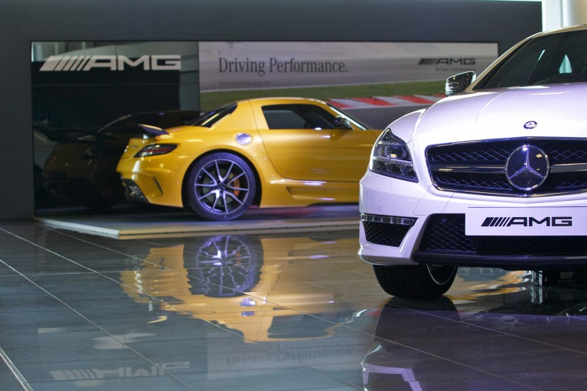 First AMG Performance Centre opens in UK