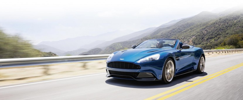 The new Aston Martin Vanquish Volante unveiled