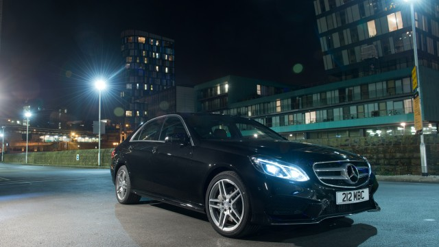 Mercedes-Benz E350 BlueTEC with V6 diesel engine and 9G-TRONIC
