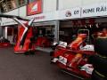 The Ferrari F1 Pit at the Monaco GP 2014