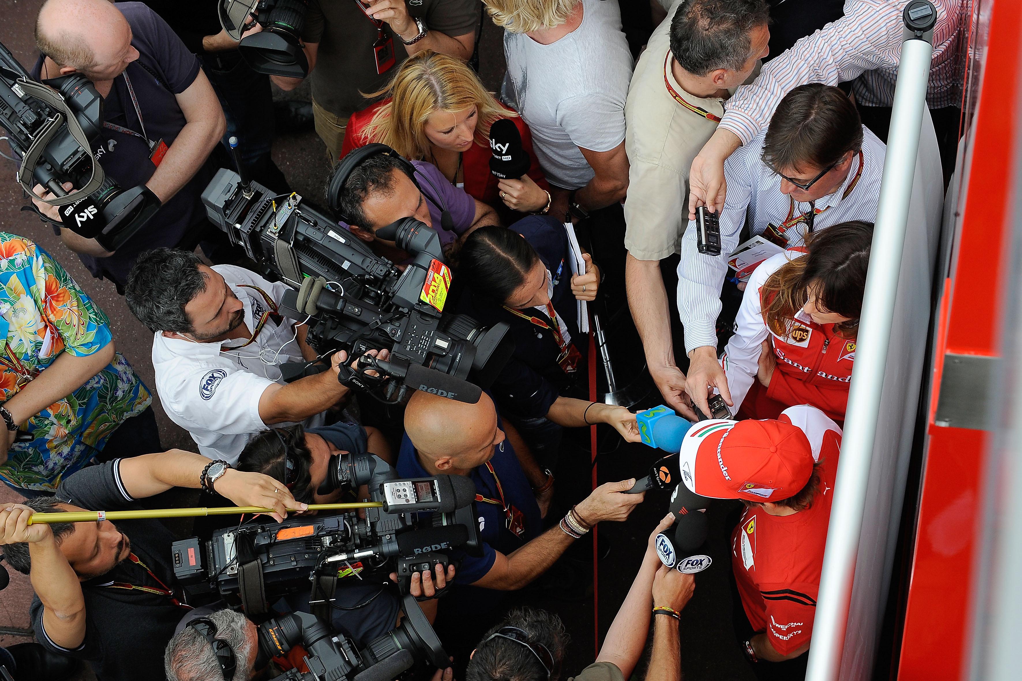 Ferrari President Backs Alonso As F1 Team Improve In Monaco border=
