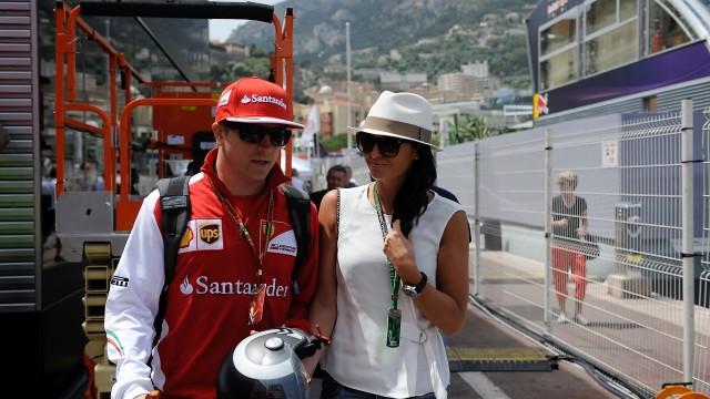 Kimi in Monaco