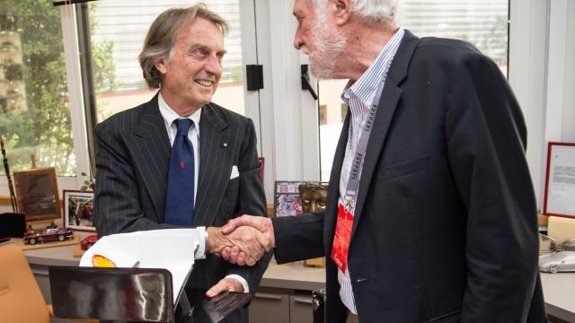 Luca di Montezemolo meets Peter Robinson