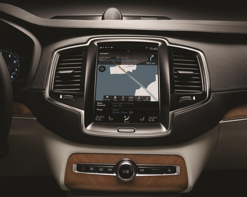 The new Volvo XC90 goes all hi-tech