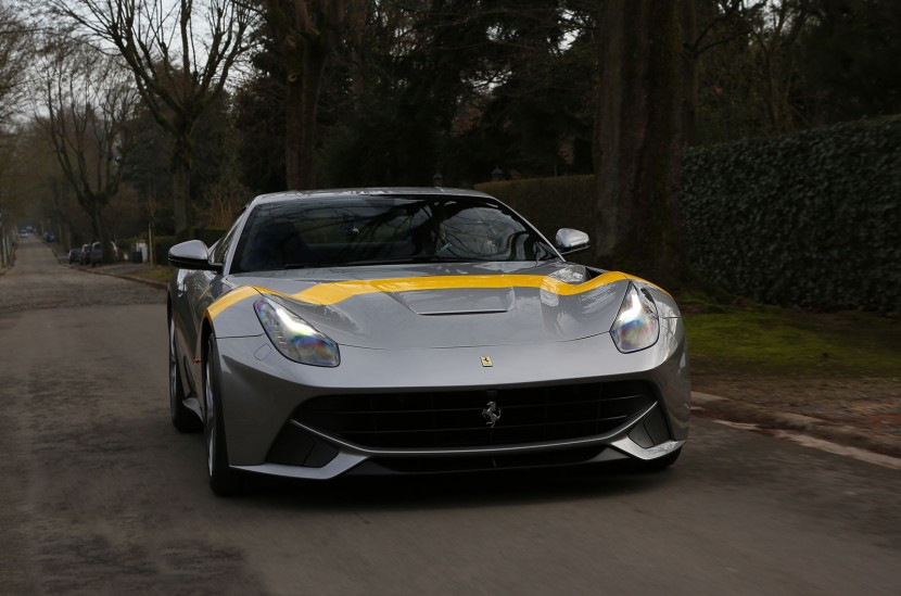The F12 Berlinetta Tour De France 64 revealed
