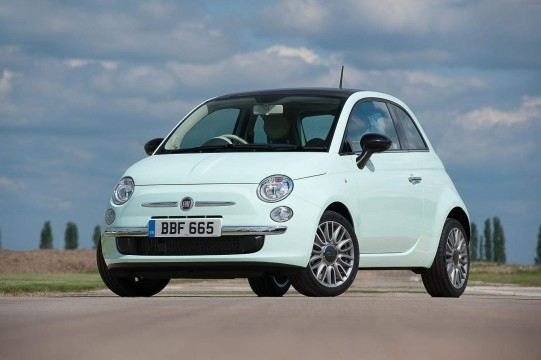 New Fiat 500 1.2 Cult for young drivers