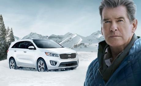 Pierce Brosnan makes #PerfectGetaway in Kia Sorento Super Bowl Ad